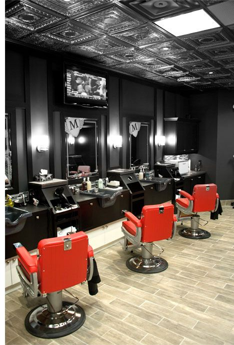 Barber Studio For Men By Wtc With Images Barber Shop Decor