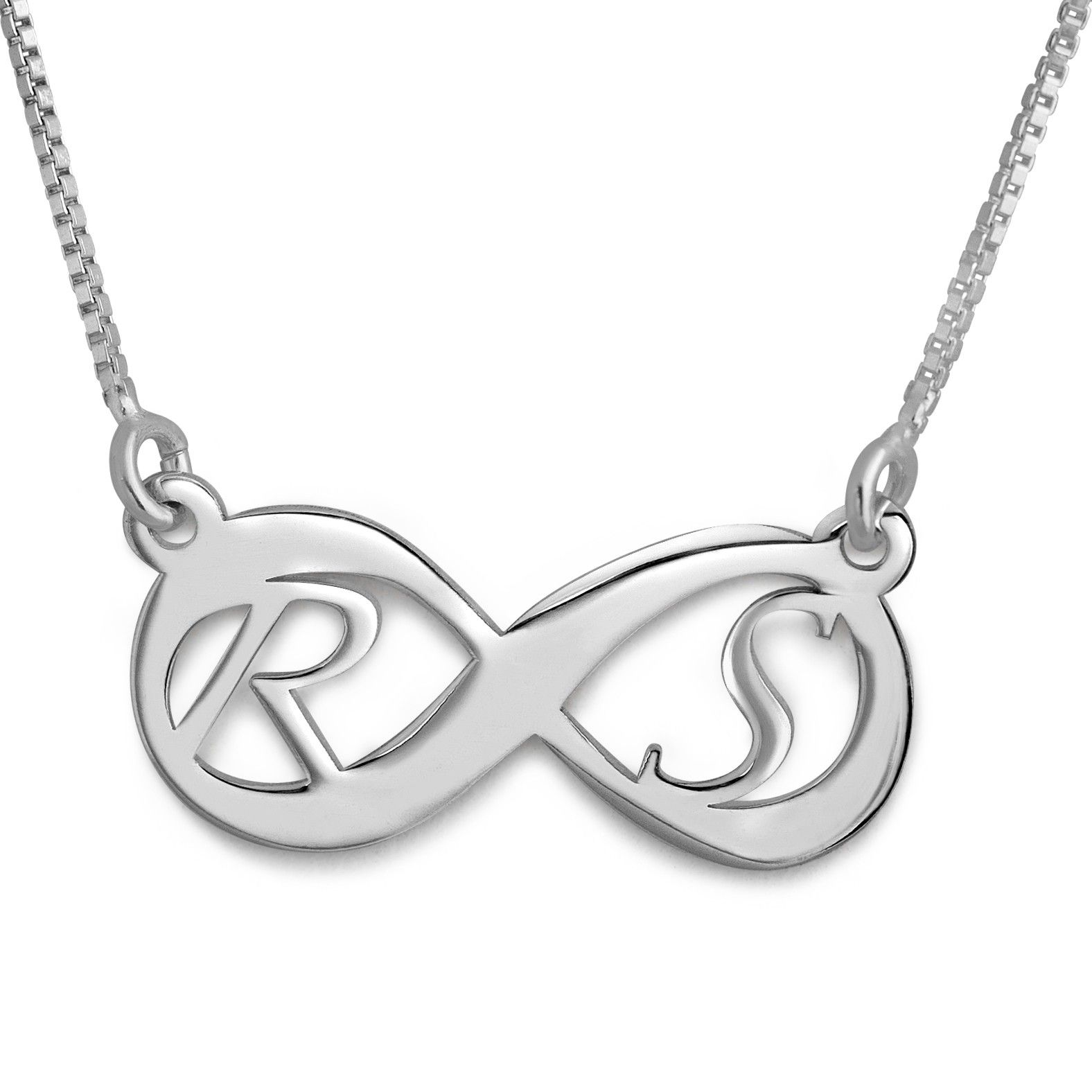 Feel amazing when you wear this double initial infinity necklace feel amazing when you wear this double initial infinity necklace use your own initials or mozeypictures Images