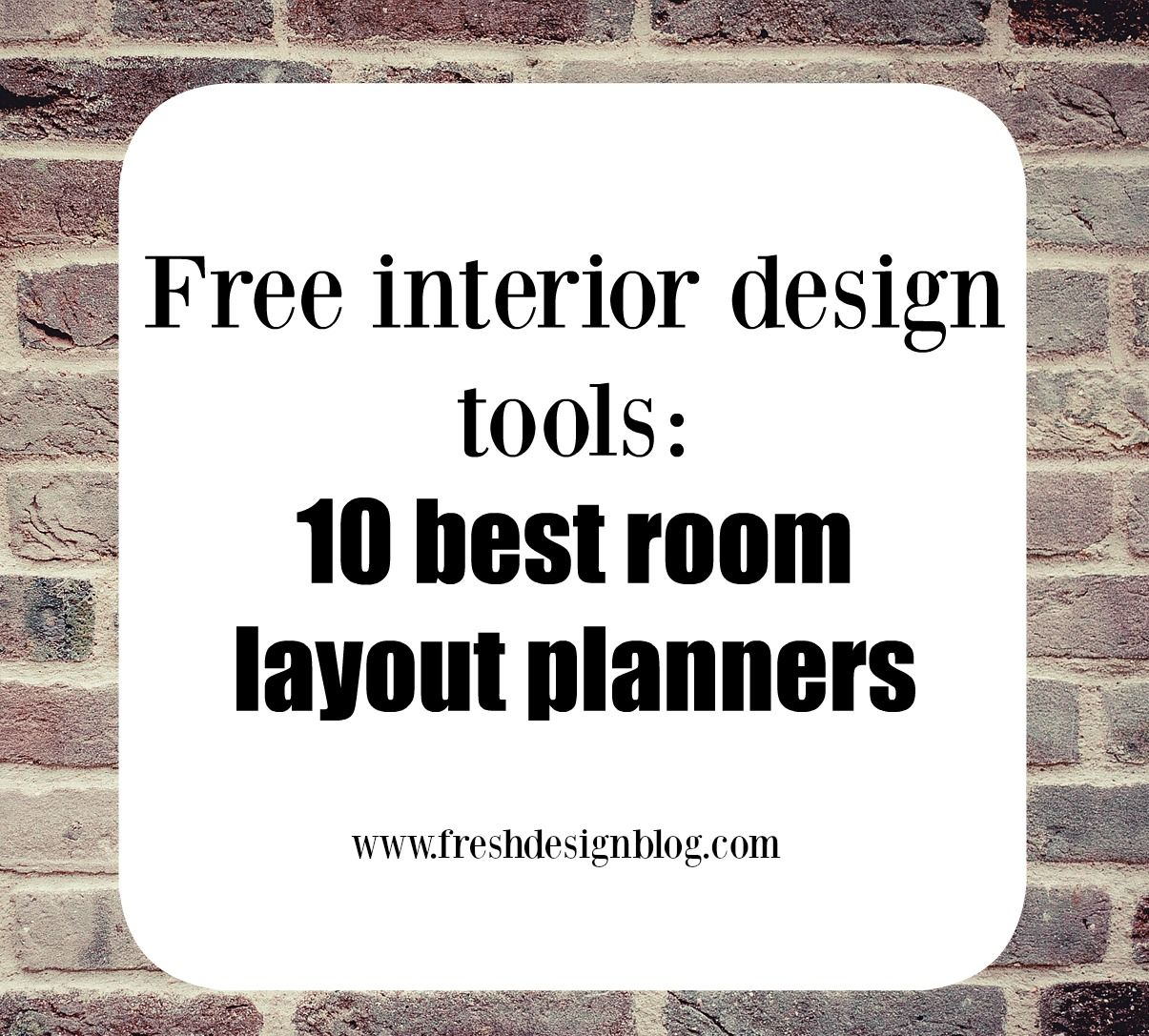 10 Of The Best Free Online Room Layout Planner Tools Design Room Layouts And Learning