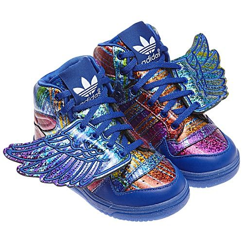 Adidas Jeremy Scott Wings Shoes Q35467 Girls Shoes Kids Fashion