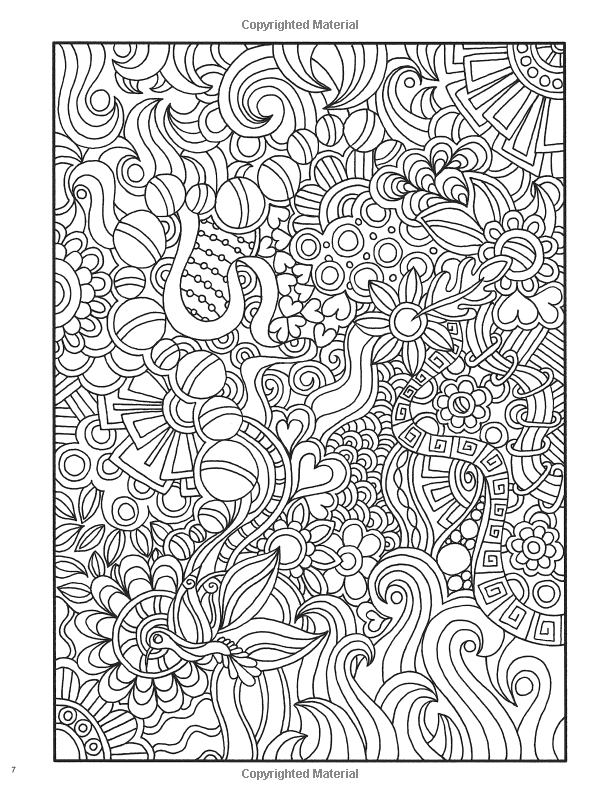 Welcome To Dover Publications Creative Haven Dream Doodles A Coloring Book With Hidden Picture
