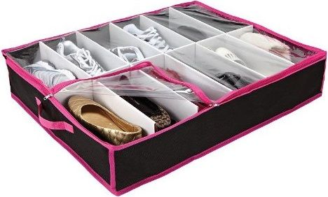 Kennedy Home Collection Underbed Shoe Organizer