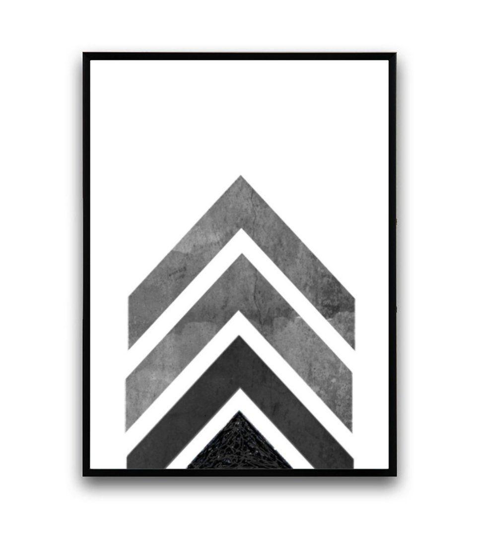 Bild - 42 cm - schwarz/weiß/grau | Living Room Stuff | Pinterest ...