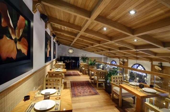 Unique Dining Room With Sloping Ceiling In Restaurant Definition