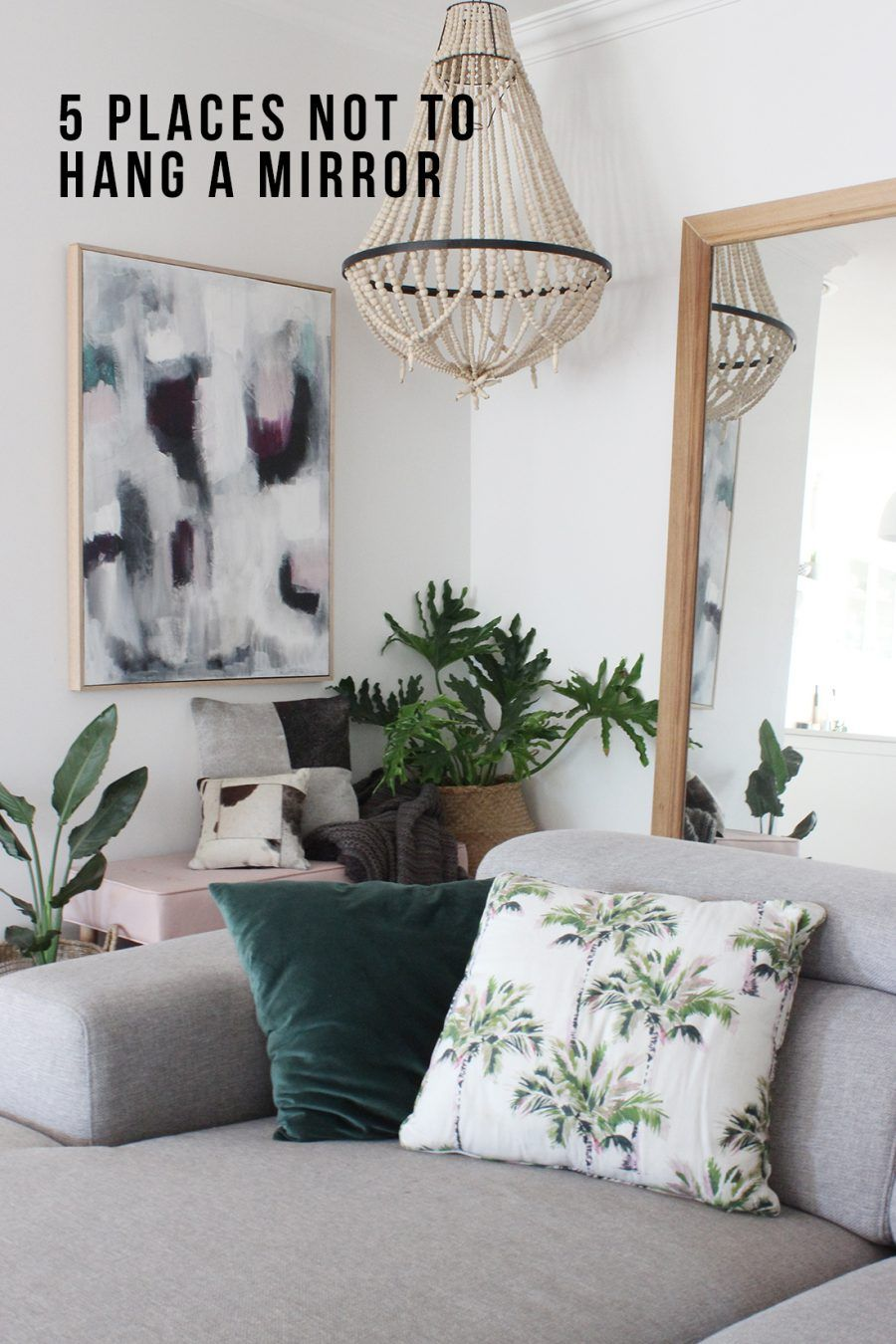 5 places not to hang a mirror Feng shui bedroom