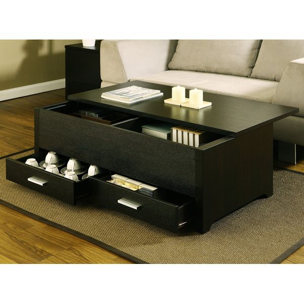 Enitial Lab Lucas Trunk Style Coffee Table With Storage