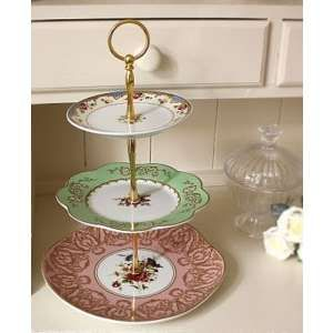 For macaroons or something yummy... | plates on a wall | Pinterest | Macaroons Vintage cake stands and Tiered stand  sc 1 st  Pinterest & For macaroons or something yummy... | plates on a wall | Pinterest ...