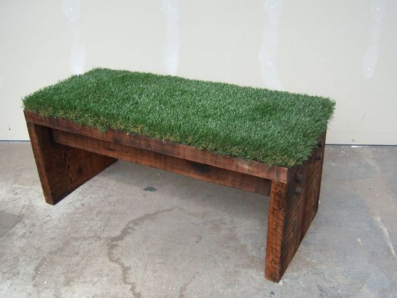 Main Ingredient Monday 20 Artificial Grass Projects Pallets Diy Artificial Grass Diy Artificial Turf Artificial Turf