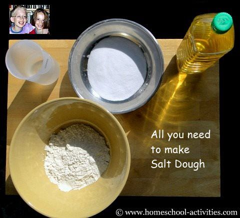 how to make salt dough with fun ideas of what to make with it http