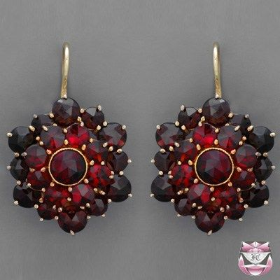 For a long period of time, Bohemian garnet and other red-hued gemstones were classified as �karfunkle�, deriving from the Latin term �carbunculus�, meaning �burning charcoal�. The Bohemian garnet o…