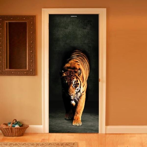 Tiger - great idea to have a bill board attached to a door & Tiger - great idea to have a bill board attached to a door | HOME ...