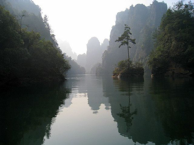 Geological Photography - Zhangjiajie National Forest Park Mountains