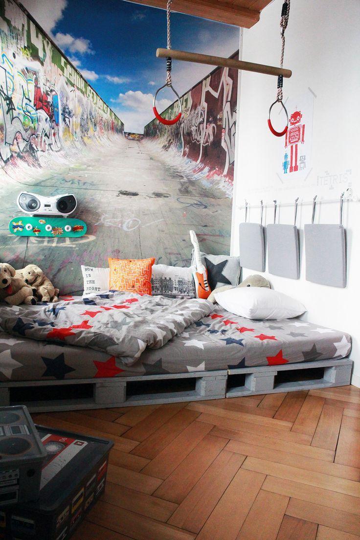 Schön Bett Teenager Dekoration Von In Yves Zimmer Lässts Sich Gut Chillen,