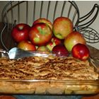 Apple Dumpling cake...yummm! I'm adding a streusel topping for extra deliciousness!