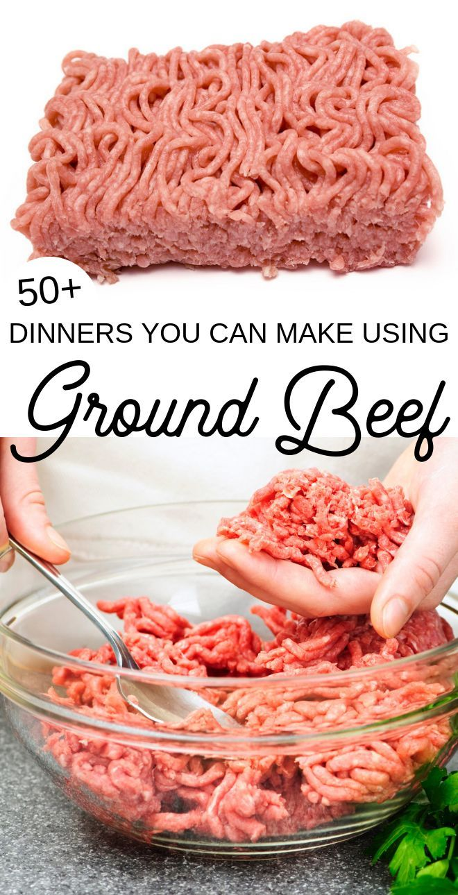Over 50 Hamburger Meat Recipes #meatrecipes