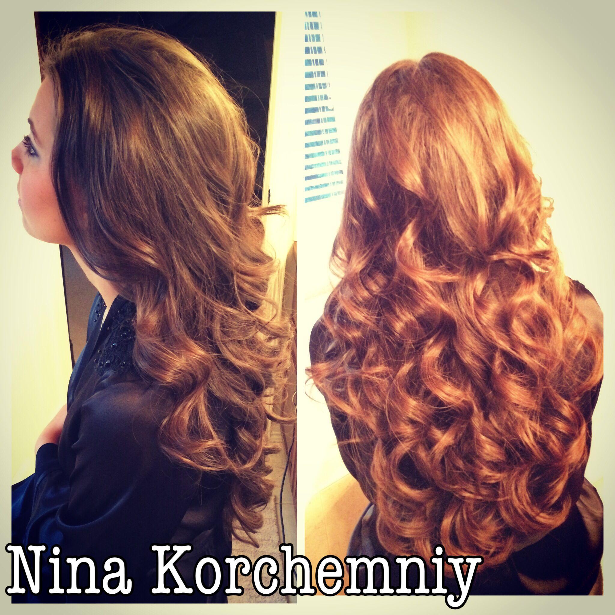 Big loose curls Curl set Hair By Me ❤ Pinterest