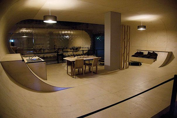 Skateboard Bedroom 10 of the strangest homes in the world | awesome, parks and make your