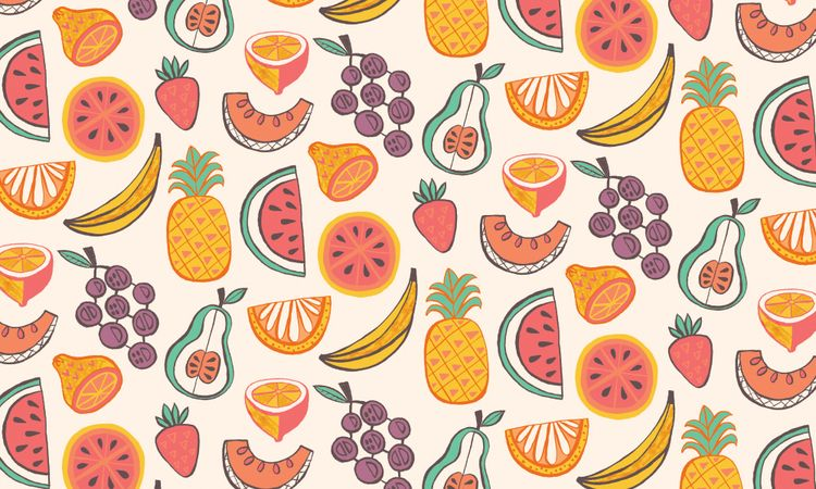 Fruit Pattern / Allison Cole