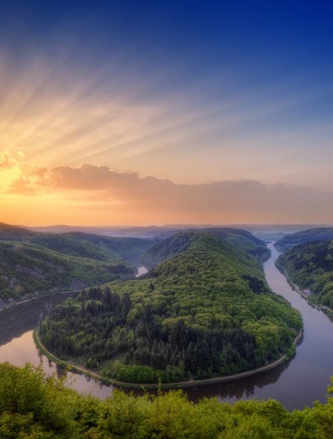 Great Saar loop, Germany | Amazing Snapz | Click to see more