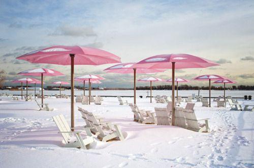 Sugar Beach, Toronto, Canada