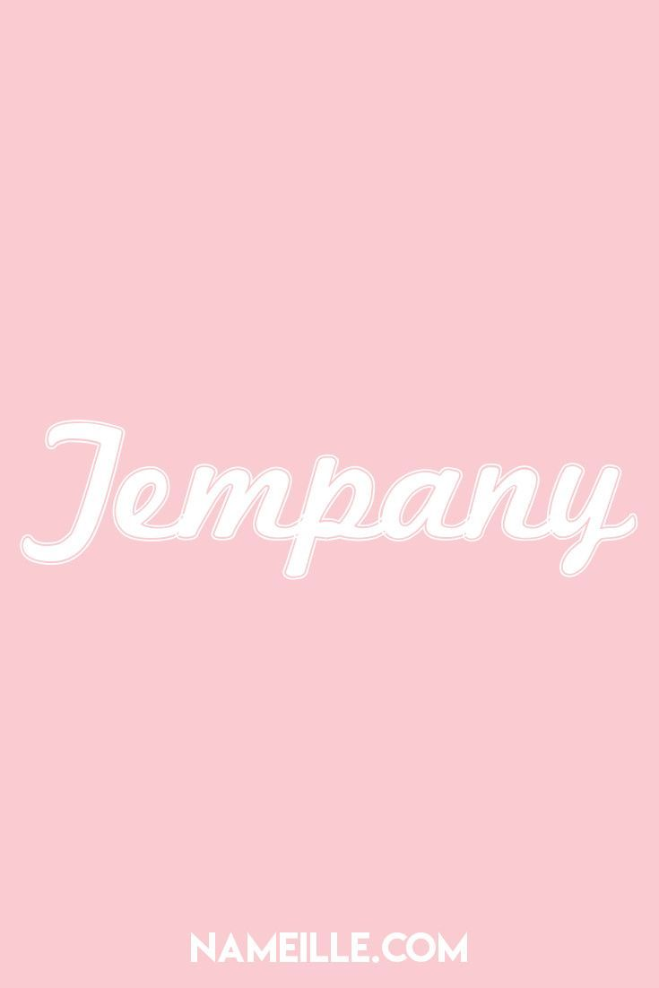 Tempany Unusual Baby Names Girl Names Baby Girl Names