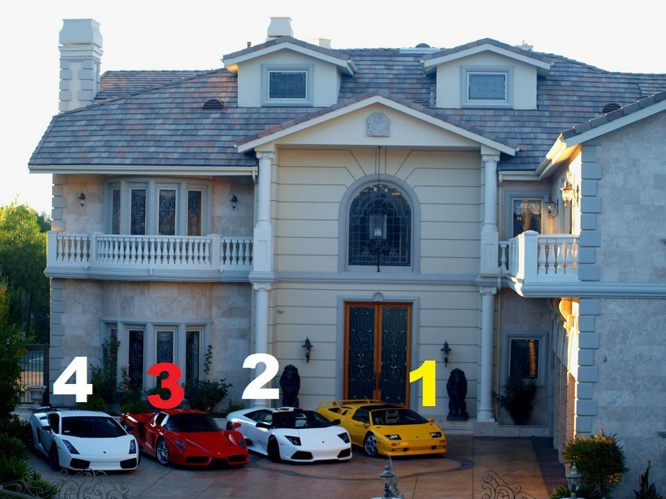 what would you choose ? 1: Lamborghini Diablo VT Roadster 2: Lamborghini Murciélago Roadster 3: Ferrari Enzo 4: Lamborghini Gallardo Superleggera