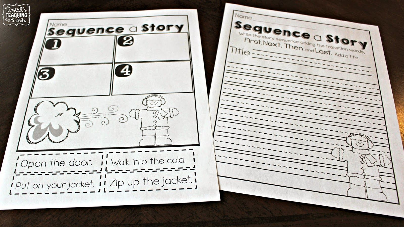 It is a graphic of Transformative Printable Literacy Centers First Grade