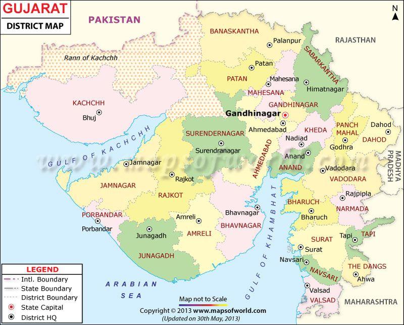 Gujarat map books worth reading pinterest india gujarat map altavistaventures Gallery