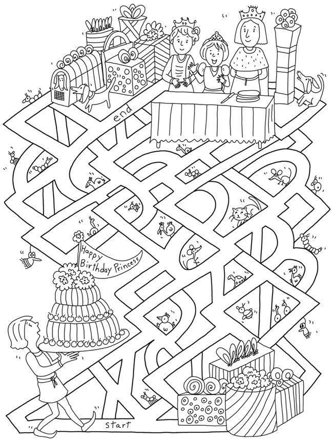 Prinzessinnen Labyrinth   Prinzessin Nono von Boninius   Pinterest ...