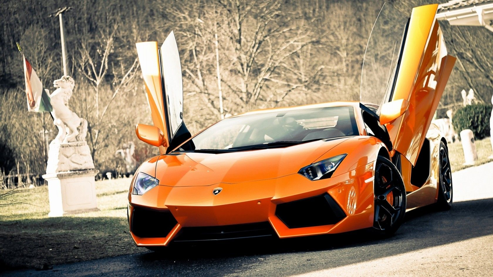 Super Cars Lamborghini Aventador Supercars Automotive