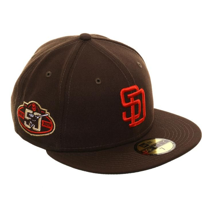 Exclusive new era 59fifty san diego padres 50th 1985 logo