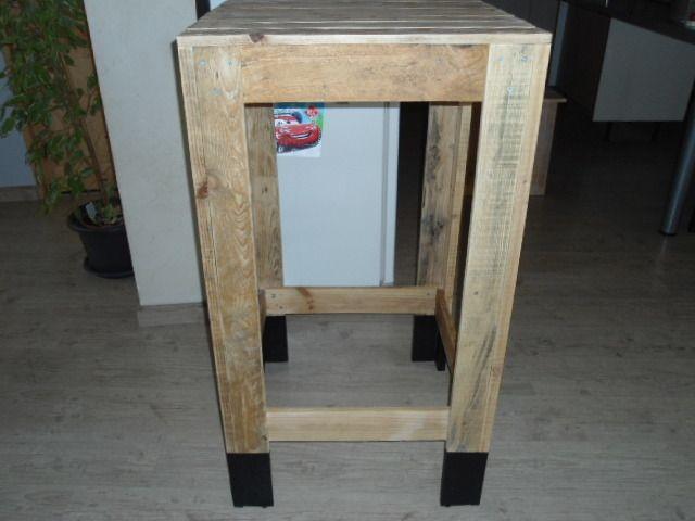 mange debout en bois de palette meubles et rangements par palette et compagnie id es. Black Bedroom Furniture Sets. Home Design Ideas