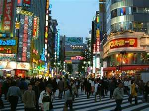 Shinjuku, Tokoyo, Japan