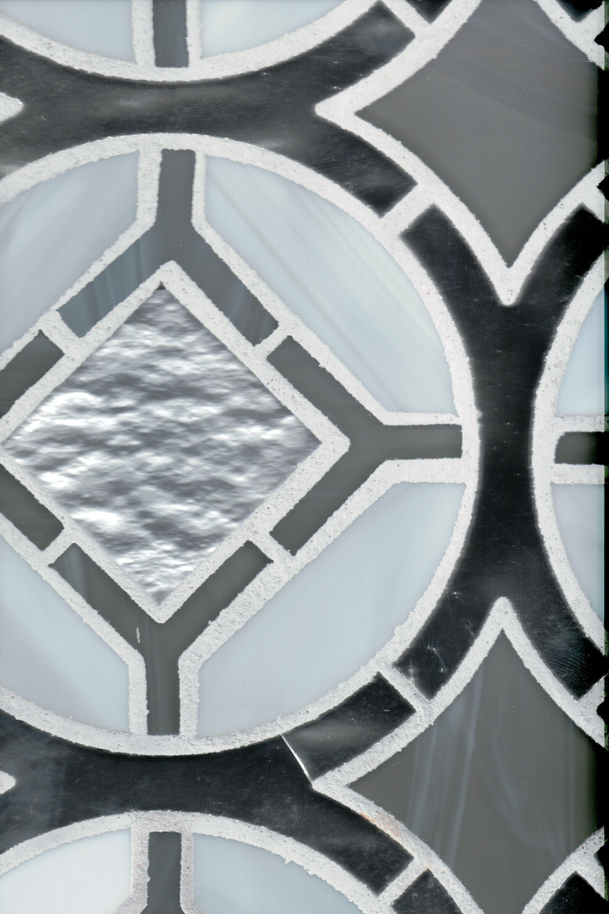 Devotion Glass Tile - Cathedral Pattern - Stunning statement tile ...