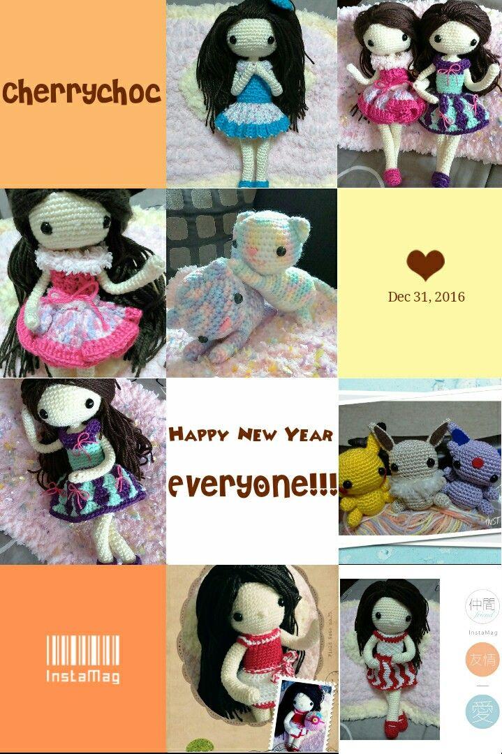 my crochet dolls : Happy New Year!!!