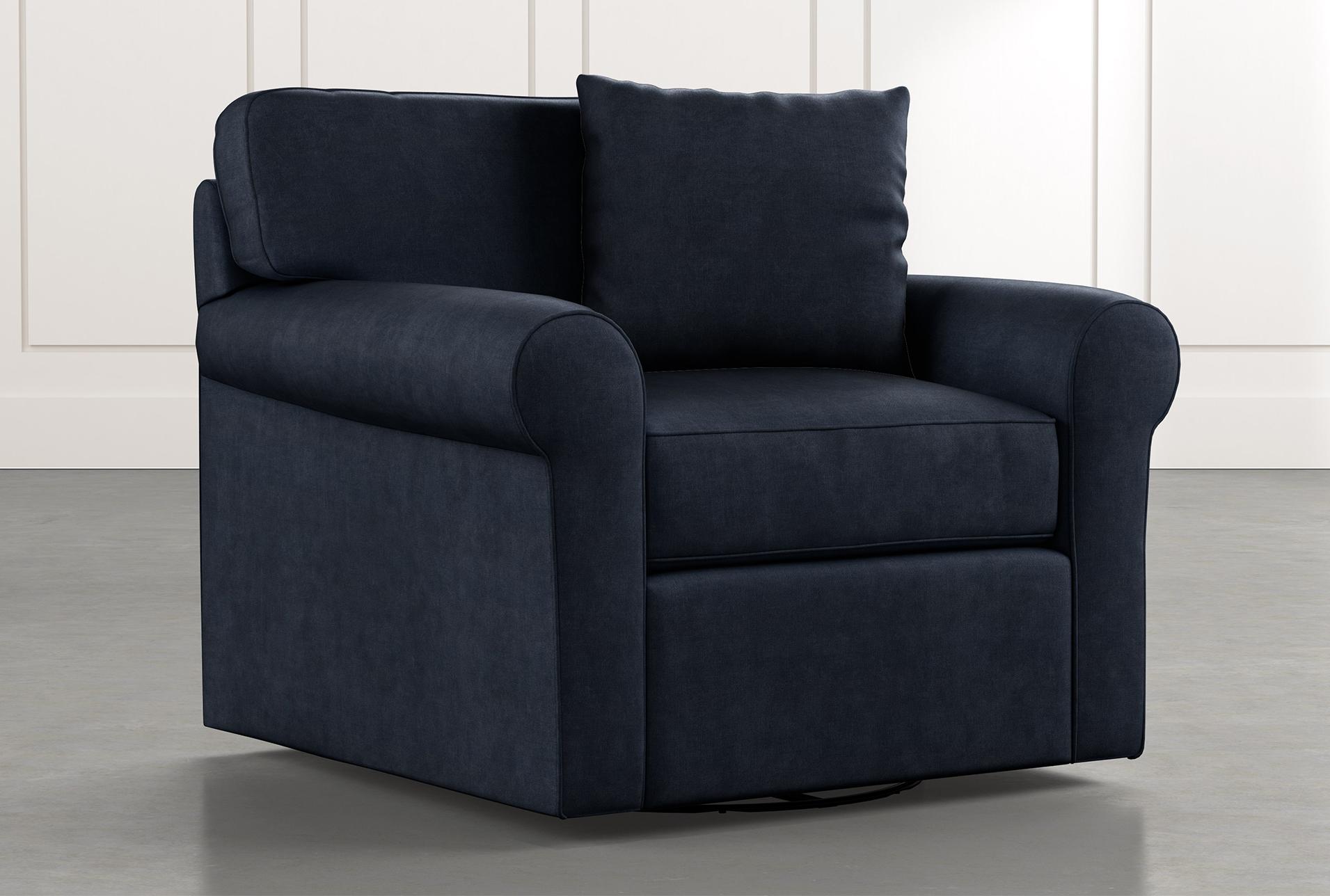 Best Elm Ii Navy Blue Swivel Arm Chair Swivel Armchair 400 x 300