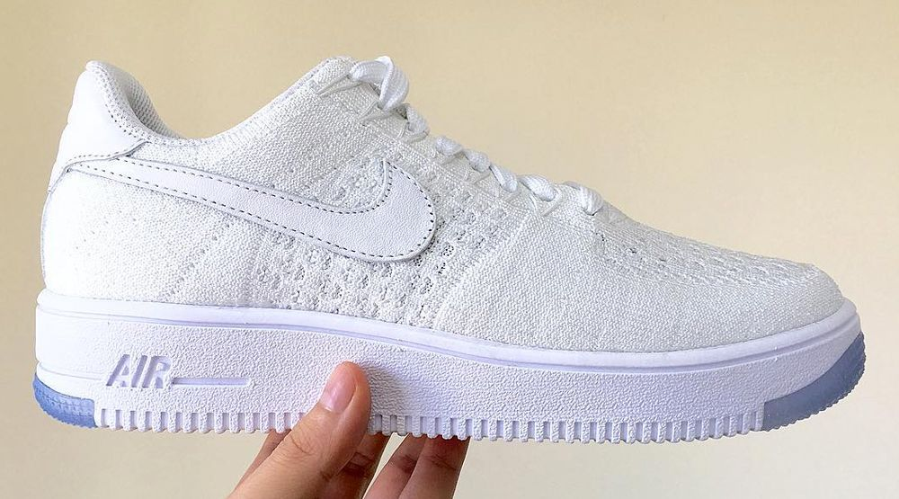 Nike Air Force 1 Flyknit Low WhiteIce