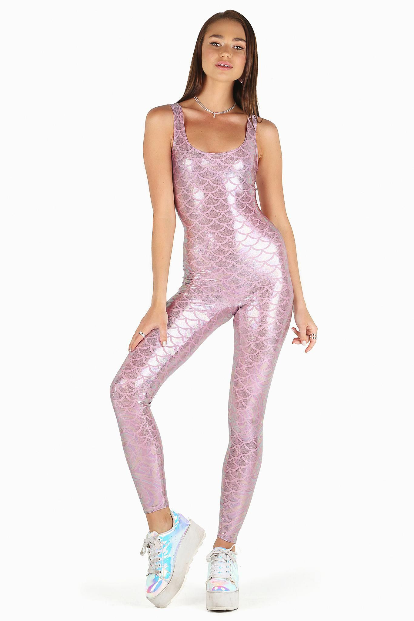 2f4aa878bdc Mermaid Pink Catsuit – LIMITED ( 110AUD) by BlackMilk Clothing   SiberianCatsForSale