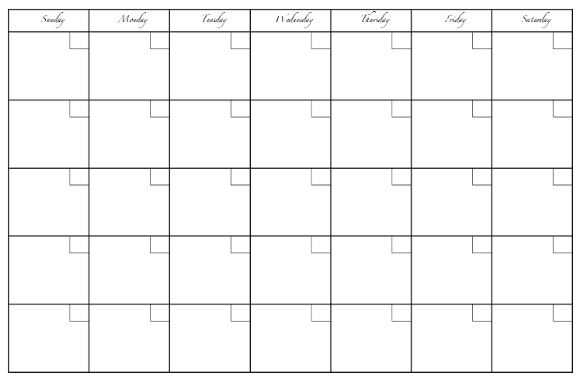 photo regarding Printable Whiteboard called Printables For The Dry Erase Calendar Craft Designs Blank