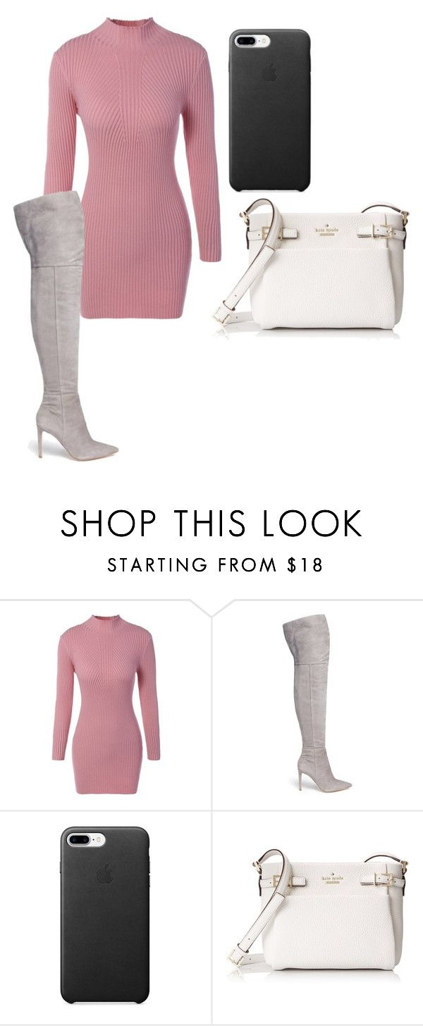 """""""Christmas Eve"""" by summer-vernon on Polyvore featuring Sam Edelman and Kate Spade"""