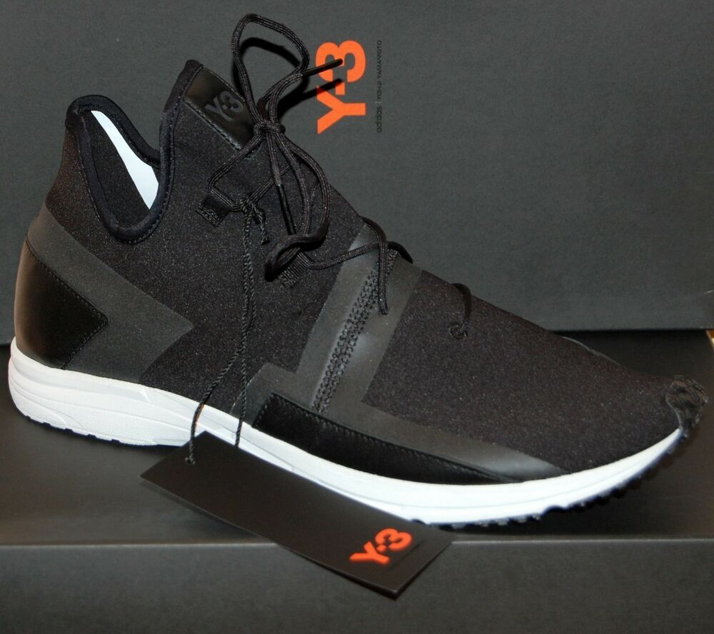 24f103986dba5 Details about Y-3 Yonji Yamamoto ARC RC Boost High Top Sneakers Shoes -Sz  12 US  11.5 UK in 2019