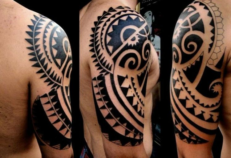 maori tattoo mann tribal sonne zeichen pinterest. Black Bedroom Furniture Sets. Home Design Ideas