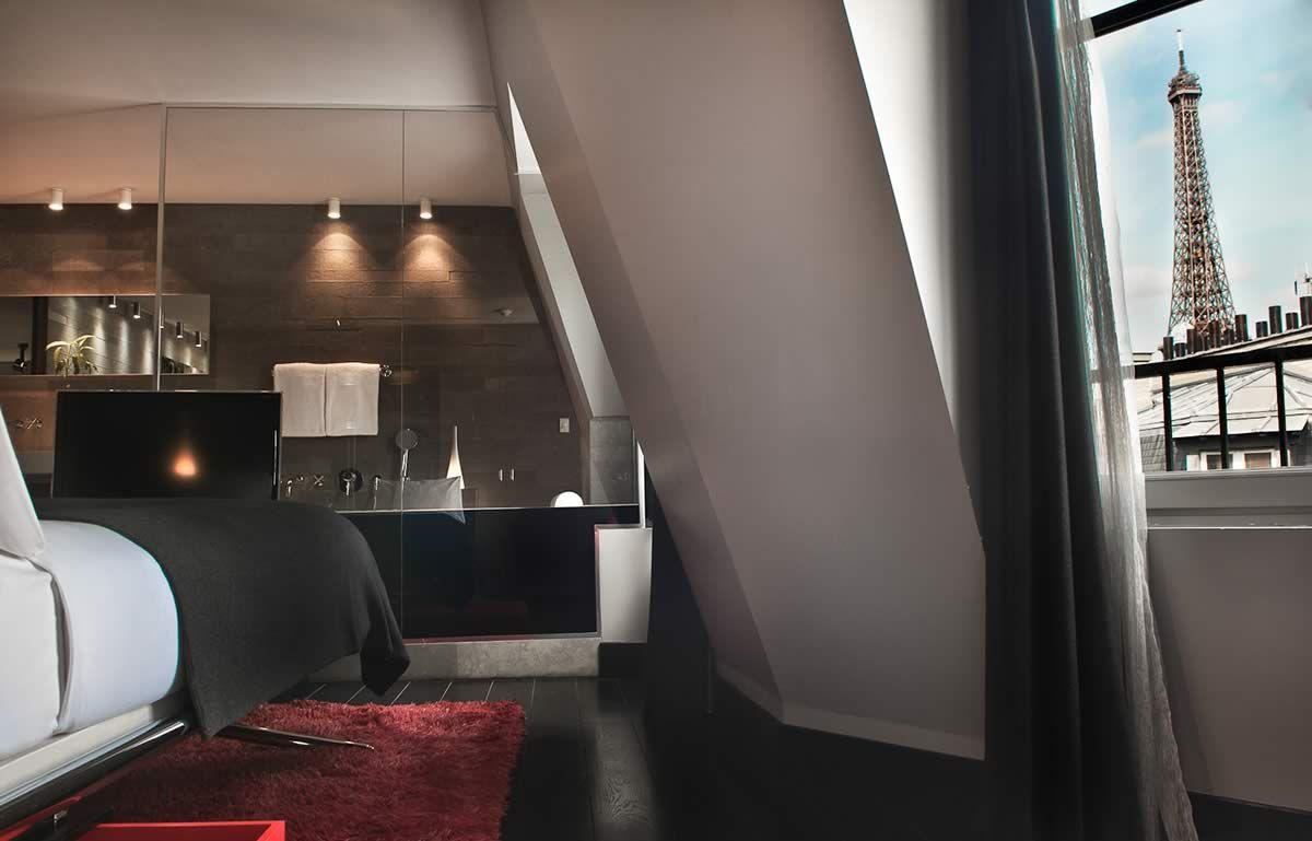 hotel sezz design hotel paris favorite places spaces pinterest saint tropez saints. Black Bedroom Furniture Sets. Home Design Ideas