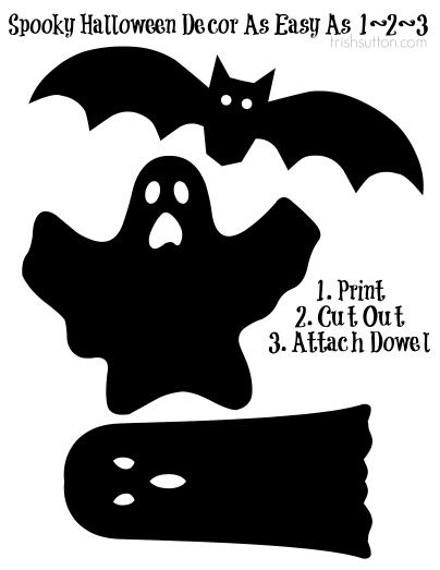 Halloween Printables Cutouts Free