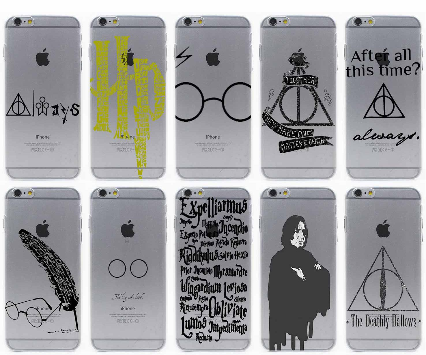 c708d42592 Harry Potter Transparent Case for iPhone, Huawei, Samsung, Lenovo, Nokia  //Price: $22.49 & FREE Shipping // #HarryPotter #Potter #HarryPotterForever  ...