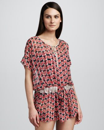 Toucan Do It Sheer Coverup by Marc By Marc Jacobs at Neiman Marcus.