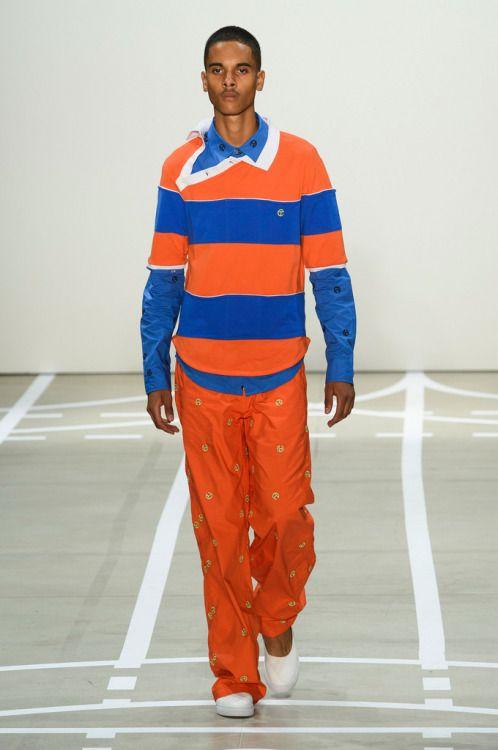 Telfar SS17.  menswear mnswr mens style mens fashion fashion style telfar runway