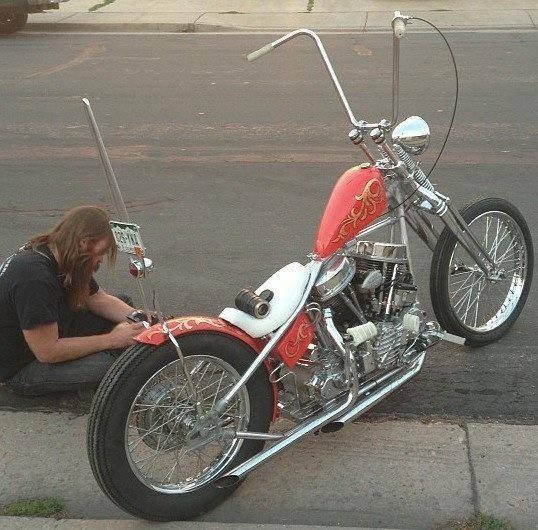 Classic Harley Davidson, Motorcycle
