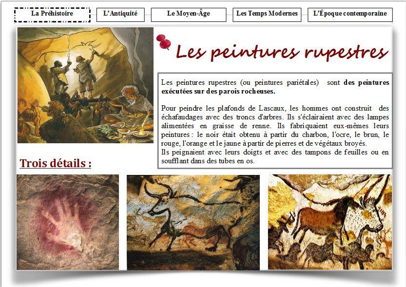 les peintures rupestres histoire peinture rupestre