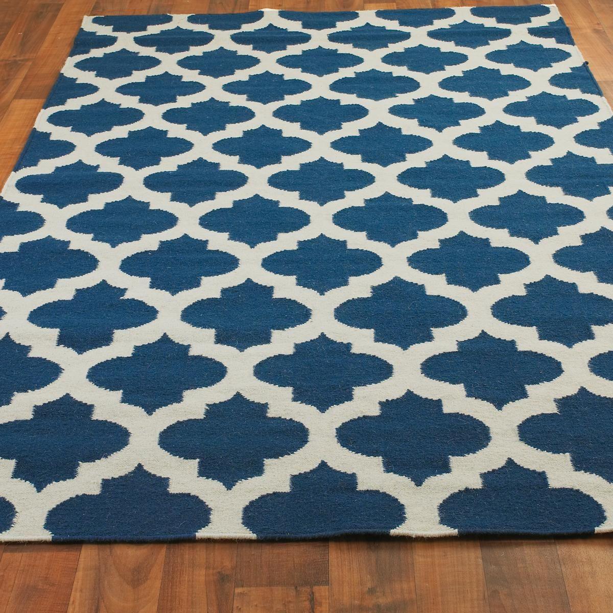 Ironwork Trellis Dhurrie Rug | Dhurrie rugs, Lights and Living rooms